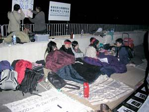 anti wto hunger strikers